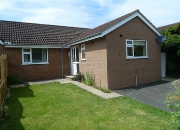Thumbnail 2 bed semi-detached bungalow to rent in 1A Hill View, Lawley Close, Church Stretton