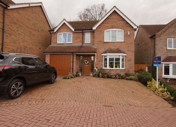Thumbnail 4 bedroom detached house for sale in Archers Close, Wrawby, Brigg