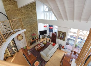 Thumbnail 3 bed flat to rent in Calico House, Clove Hitch Quay, London