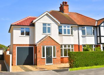 Thumbnail 4 bed semi-detached house for sale in Leyland Road, Harrogate