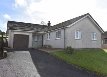 Thumbnail 3 bed detached bungalow for sale in Pwllswyddog, Tregaron