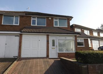 Thumbnail 3 bed semi-detached house for sale in Tomlan Road, West Heath, Birmingham, West Midlands