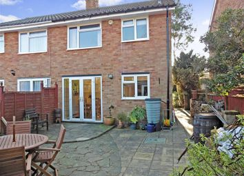 Thumbnail 3 bed semi-detached house for sale in Birling Way, Uckfield, East Sussex