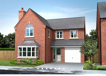 Thumbnail 4 bed detached house for sale in The Sutton, William Nadin Road, Swadlincote, Derby