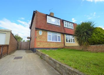 Thumbnail 2 bed semi-detached house for sale in Cruden Road, Gravesend