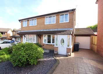 Thumbnail 3 bed semi-detached house for sale in Holwick Close, Washington