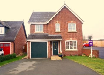Thumbnail 4 bed detached house for sale in Parc Llwyfen, Llanymynech