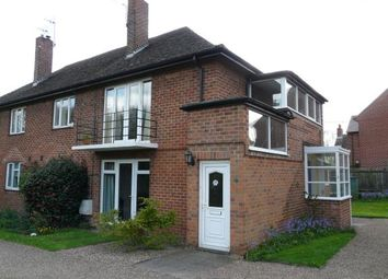 Thumbnail 2 bed maisonette for sale in Manor Court Flats, Church Lane, Barrow-On-Trent, Derby
