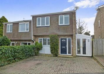 Thumbnail 2 bed semi-detached house for sale in Rochester Way, Crowborough, East Sussex
