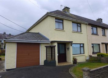 Thumbnail 3 bed semi-detached house for sale in Tregerddan, Bow Street, Ceredigion