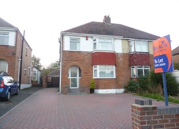 Thumbnail 3 bed semi-detached house to rent in The Dale, Widley, Waterlooville