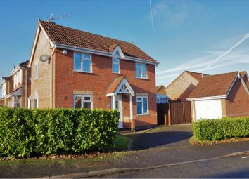 Thumbnail 3 bed link-detached house for sale in Owen Close, Leicester