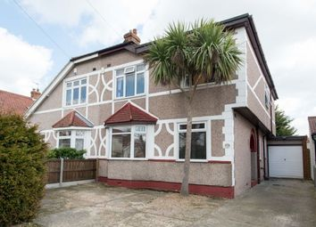 Thumbnail 4 bed semi-detached house for sale in Elmcroft Avenue, Blackfen, Sidcup