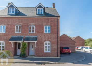 Thumbnail 3 bed town house for sale in Herschel Close, Swindon