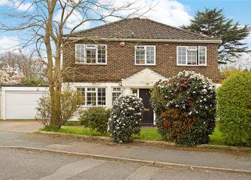 Thumbnail 4 bed detached house for sale in Marrowells, Weybridge, Surrey