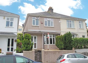 Thumbnail 4 bed semi-detached house for sale in Lower Compton Road, Mannamead, Plymouth