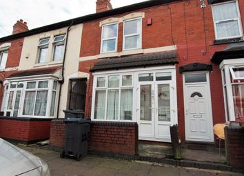 2 bed terraced house for sale in Newcombe Road, Handsworth, Birmingham B21