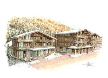 Thumbnail 2 bed apartment for sale in Grimentz, Grimentz, Valais, Switzerland