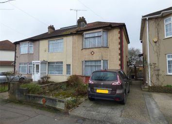 Thumbnail 3 bed end terrace house for sale in Heaton Avenue, Romford, Essex