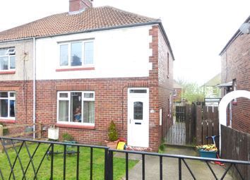 Thumbnail 2 bed semi-detached house to rent in Grassmere Road, Ferryhill