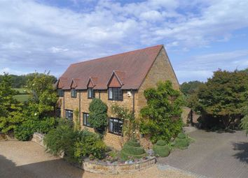 Thumbnail 4 bed detached house for sale in Upper Harlestone, Northampton