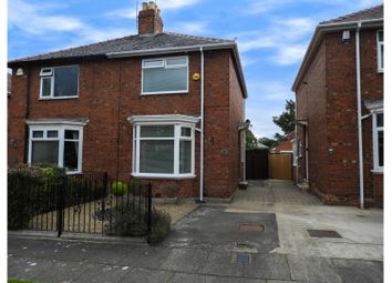 Thumbnail 2 bed semi-detached house for sale in Highfield Road, Darlington