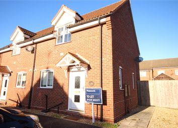 Thumbnail 2 bed semi-detached house to rent in Bramling Way, Sleaford, Lincolnshire