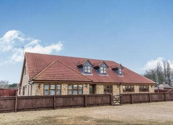Thumbnail 4 bed bungalow for sale in Crowland Road, Eye, Peterborough, Cambridgeshire