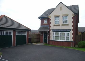 Thumbnail 3 bed detached house to rent in Pankhurst Close, Guide, Blackburn