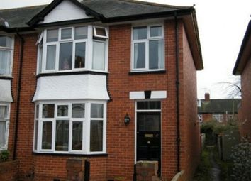 Thumbnail 3 bed end terrace house to rent in Retreat Road, Topsham, Exeter
