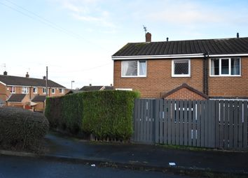 Thumbnail 3 bed end terrace house for sale in Chestnut Grove, Hemsworth, Pontefract