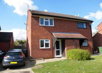 Thumbnail 2 bed semi-detached house to rent in Hedgelands, Werrington, Peterborough