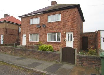 Thumbnail 2 bedroom semi-detached house to rent in Gloria Avenue, New Hartley, Whitley Bay