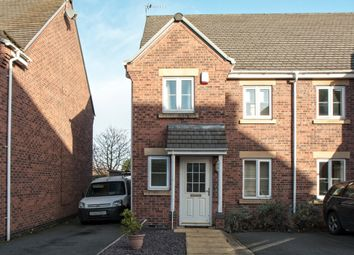 Thumbnail 3 bed semi-detached house for sale in Hollands Way, Kegworth, Derby