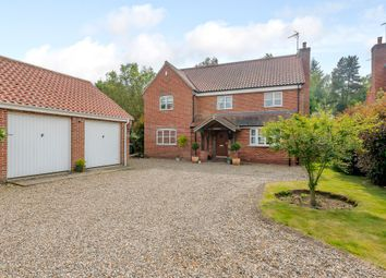 Thumbnail 6 bed detached house for sale in Bracken Close, Stratton Strawless, Norwich
