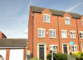 Thumbnail 3 bed town house for sale in Blakeholme Court, Burton-On-Trent