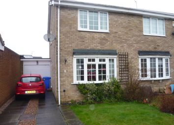 Thumbnail 2 bed semi-detached house for sale in Dorchester Court, New Hartley, Tyne & Wear