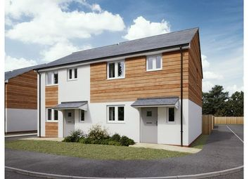 Thumbnail 3 bed end terrace house for sale in Nightingale Close, Sherford, Plymouth