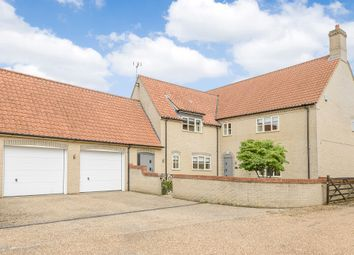 Thumbnail 5 bed detached house for sale in Malthouse Croft, Beachamwell, Swaffham