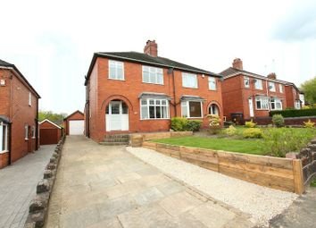 Thumbnail 3 bed semi-detached house for sale in Station Road, Biddulph, Stoke-On-Trent