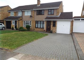 Thumbnail 3 bed semi-detached house for sale in Edgewood Drive, Luton, Bedfordshire
