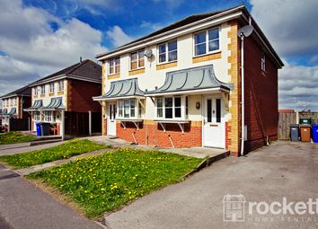 Thumbnail 2 bedroom semi-detached house to rent in Wood Street, Longton, Stoke-On-Trent