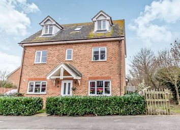 Thumbnail 5 bed detached house for sale in Shelduck Close, Allhallows, Rochester