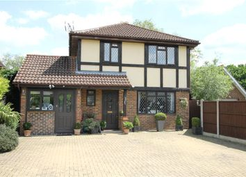 Thumbnail 4 bedroom detached house for sale in Delta Road, Chobham, Woking, Surrey
