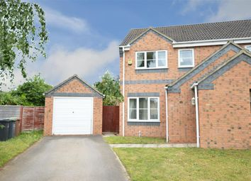 Thumbnail 3 bed semi-detached house for sale in Meadowbrook, Ruskington, Sleaford