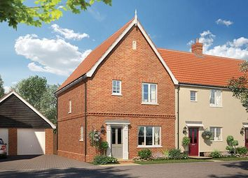 Thumbnail 3 bed semi-detached house for sale in Alconbury Weald, Former RAF/Usaaf Base, Huntingdon, Cambridgeshire