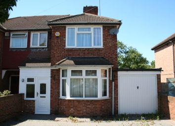 Thumbnail 4 bed semi-detached house to rent in Delamere Road, Hayes