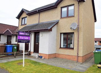 Thumbnail 2 bed semi-detached house for sale in Alltan Place, Inverness