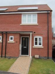 Thumbnail 2 bed semi-detached house to rent in Long Meadow Way, Birstall, Leicester