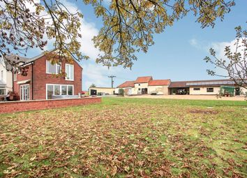 Thumbnail 4 bed detached house for sale in Moor Road, Milking Nook, Peterborough